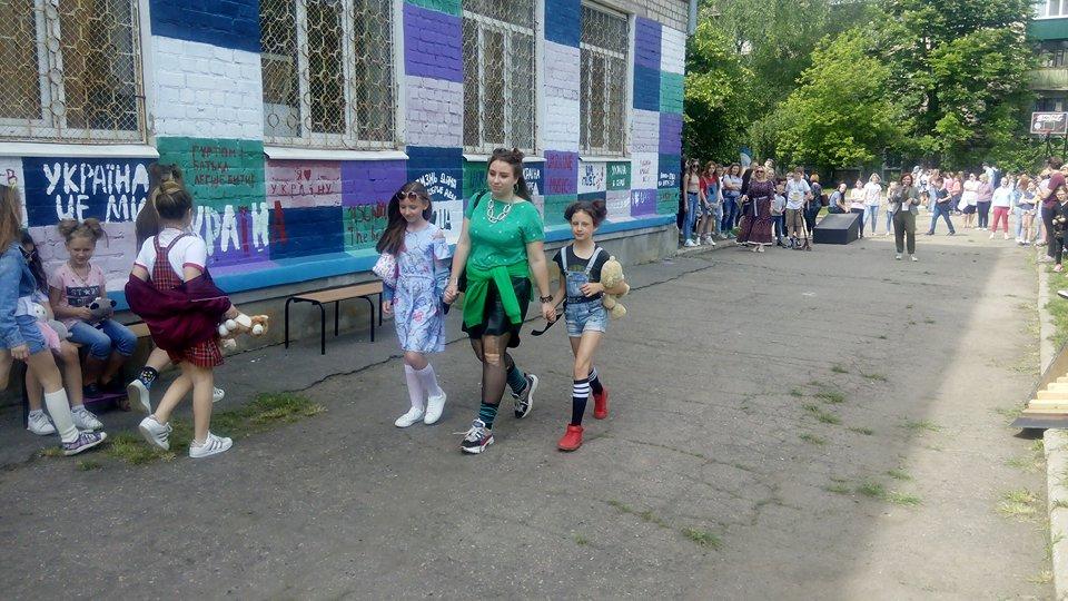 В Харькове стартовал первый школьный фестиваль уличных культур (фото)
