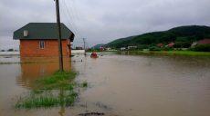 Потоп в Закарпатье: затоплено более 280 домохозяйств (фото, видео)