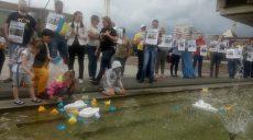 В Харькове прошла акция в поддержку пленных украинских моряков (фото)