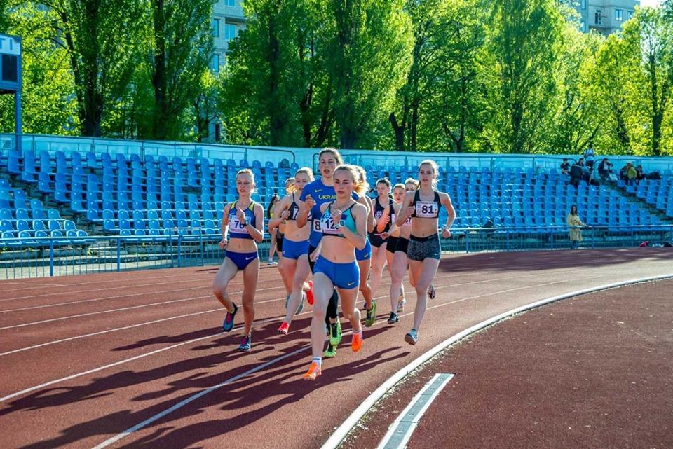 Харьковские легкоатлеты выступили на Всеукраинской Универсиаде