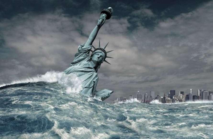 Глобальное потепление: Лондон, Нью-Йорк и Шанхай могут уйти под воду