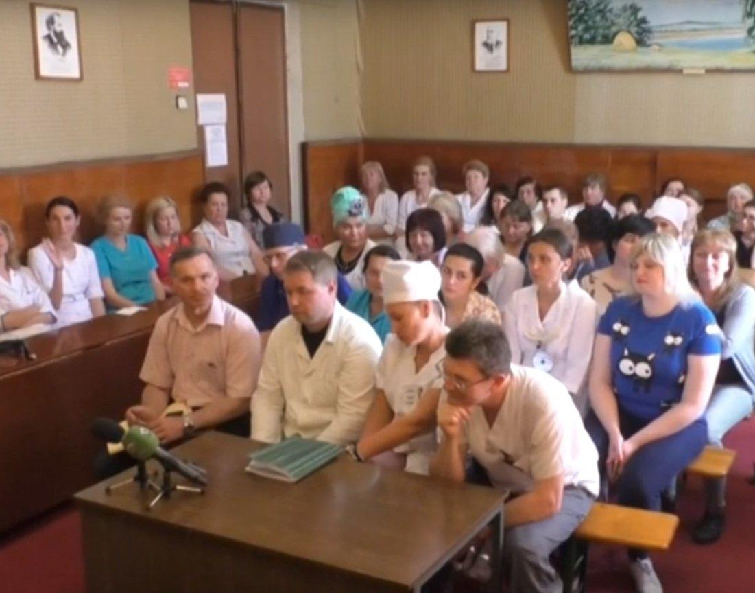 У Харківській міській клінічній лікарні № 30 обговорили медичну реформу (відео)