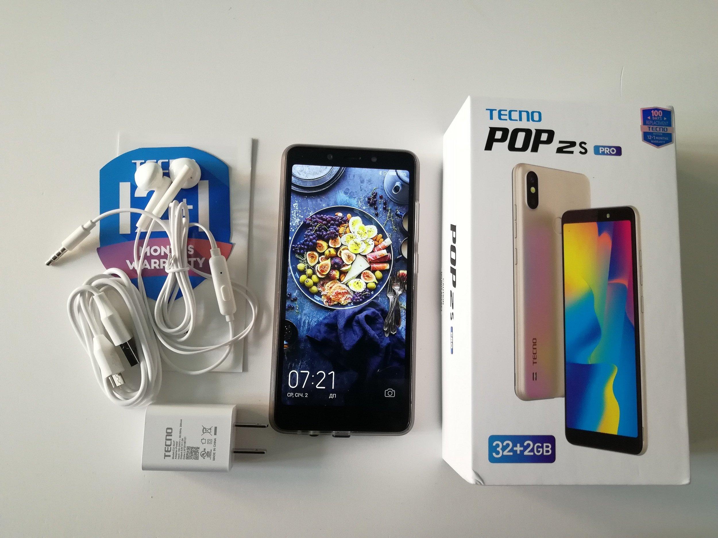 POP 2 S Pro – летний хит среди доступных камерафонов