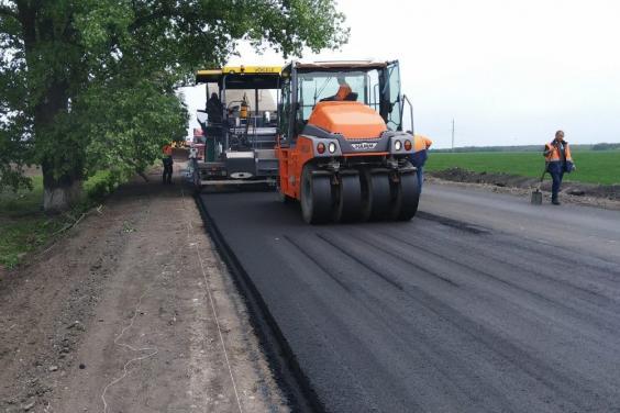 На автомобильной дороге Харьков – Змиев – Балаклея – Гороховатка продолжаются дорожные работы