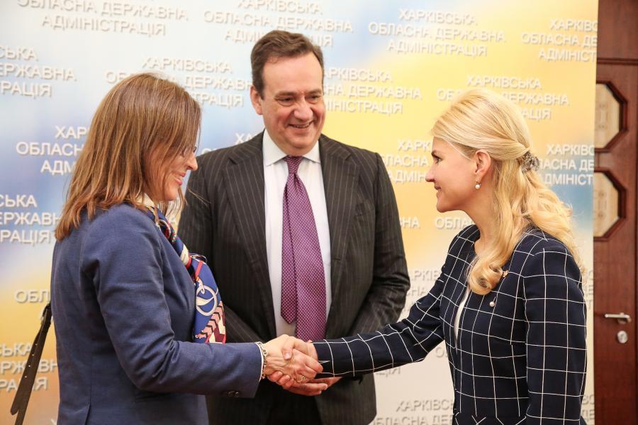 Шість лікарень на Харківщині відновили за кошти Європейського інвестиційного банку (відео)