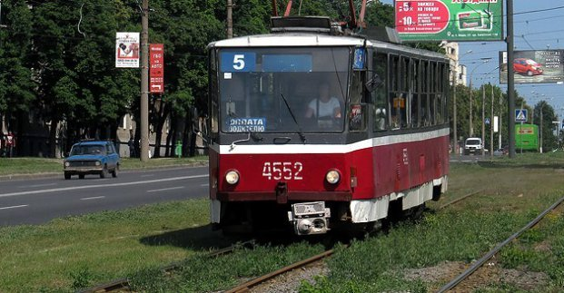 В Харькове трамвай №5 временно изменит маршрут движения