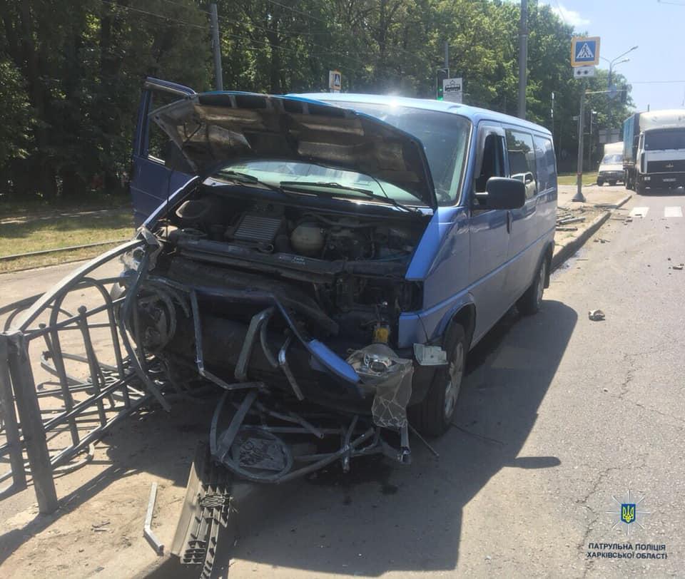 На Рудика столкнулись Daf и Volkswagen (фото)