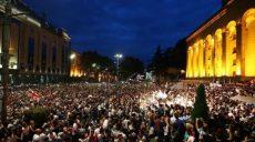 Протесты в Грузии: участники акции требуют освободить людей (фото,видео)