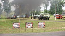 Учения. Спасатели за пять дней разобрали, разрезали и сожгли 102 легковых авто, 12 грузовиков и 8 автобусов