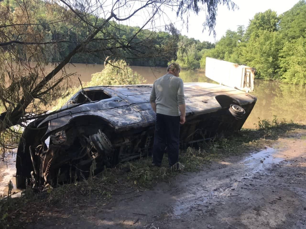 Поступили первые достоверные данные о масштабе экологической катастрофы на Винничине