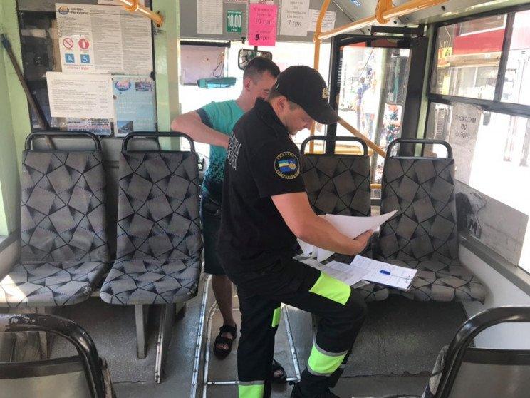 В Харькове проверяют автоперевозчиков (фото)