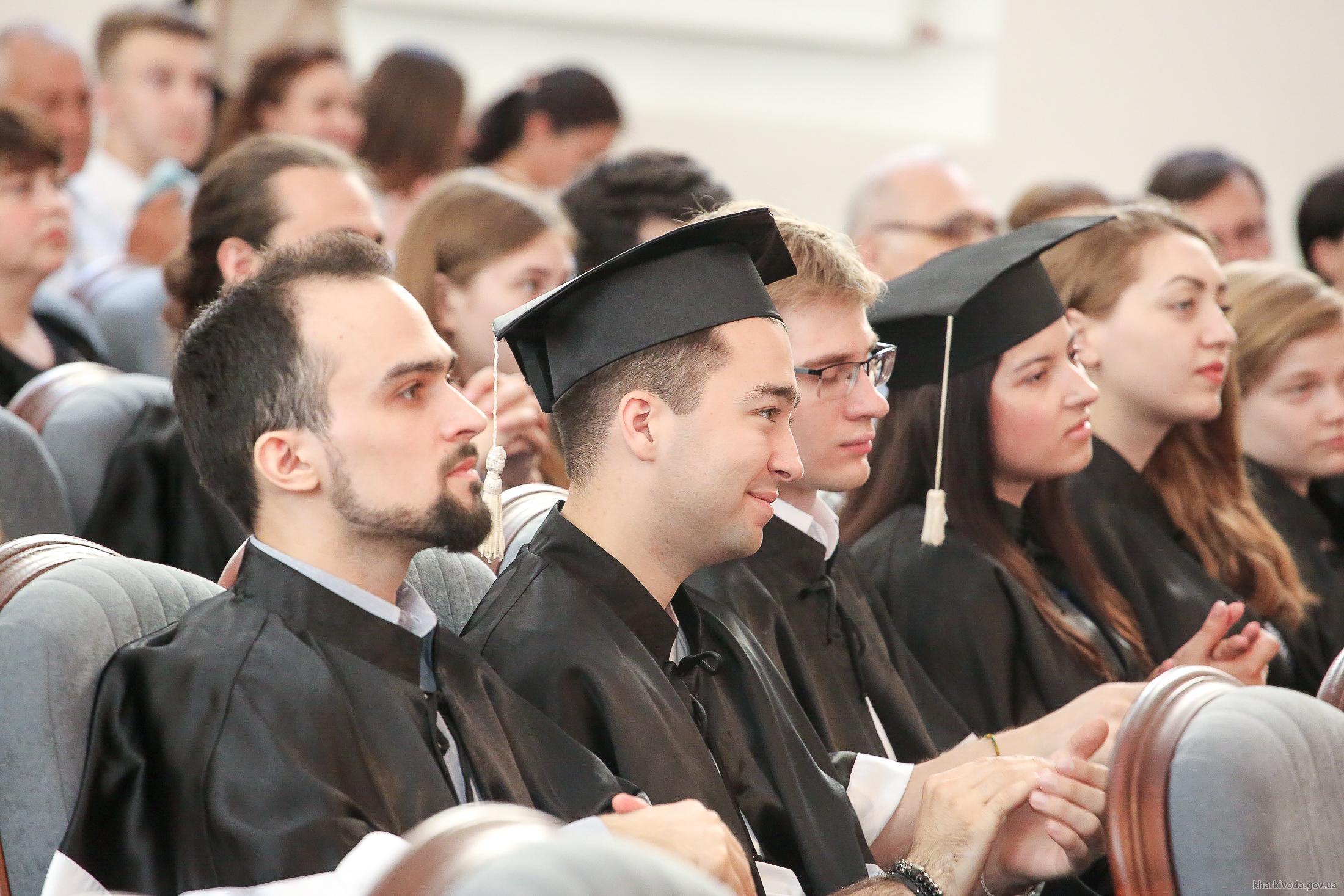В університеті імені Каразіна відбувся випуск магістрів технічних факультетів (відео)