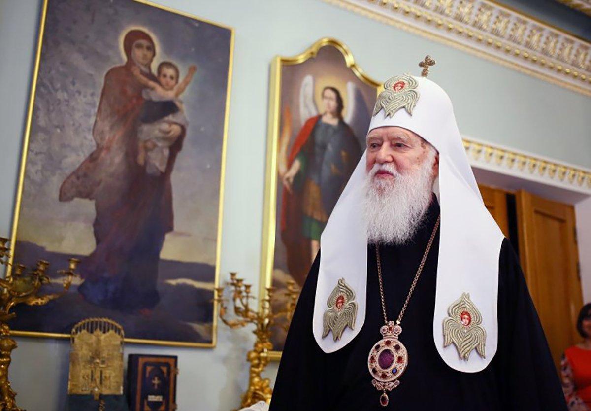 Церковный скандал: Филарета отстранили от управления Киевской епархией