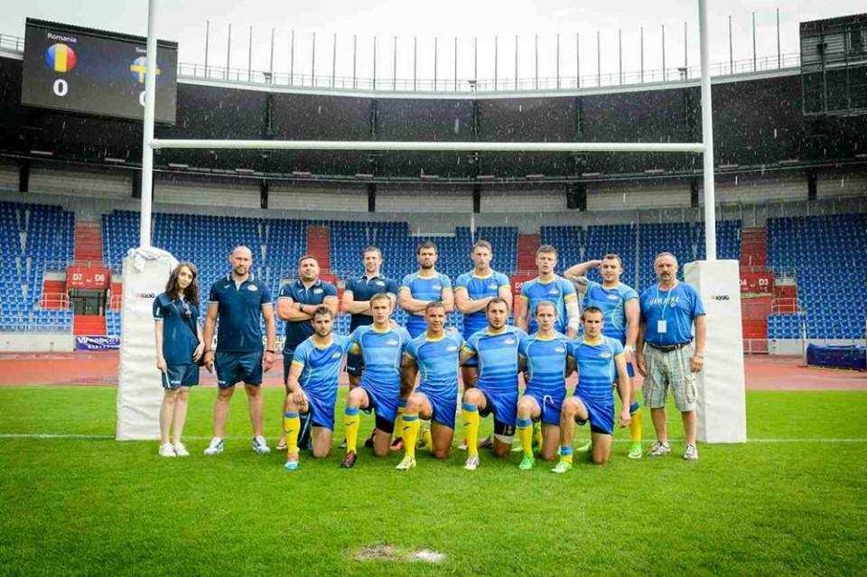 Украинские регбисты заняли второе место в Загребе