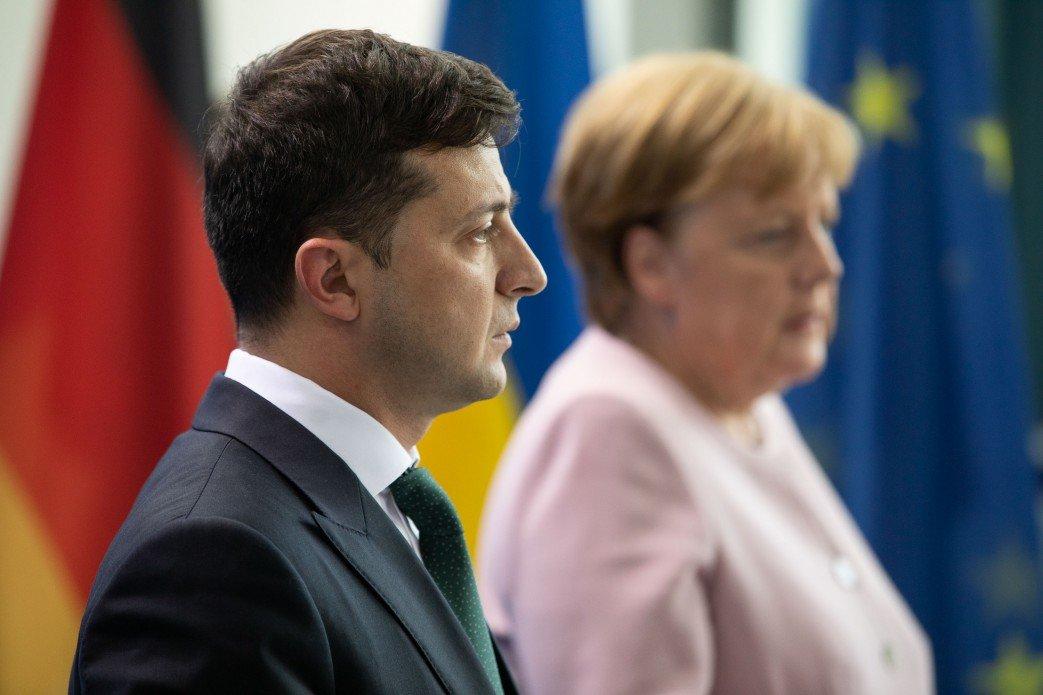 «Северный поток – 2»: Зеленский не смог переубедить Меркель