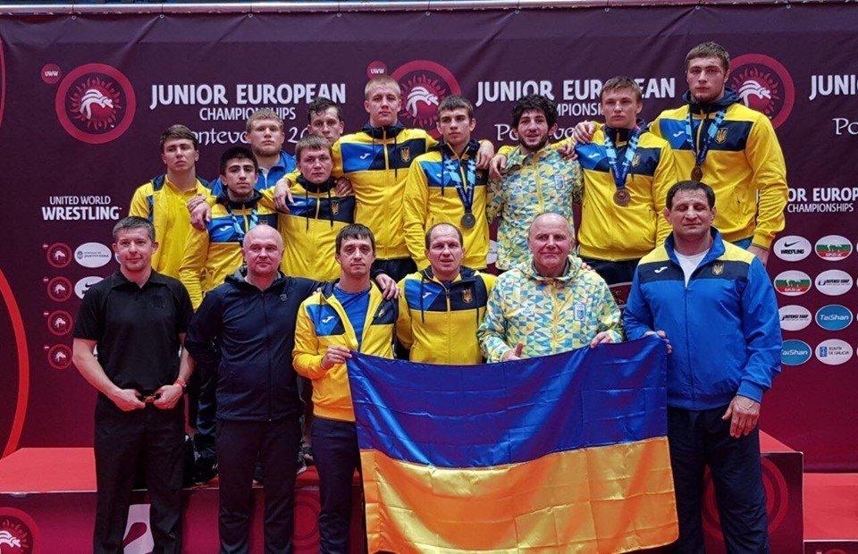 Харьковские борцы выиграли медали чемпионата Европы