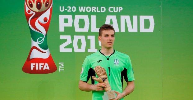 Житель Харьковщины признан лучшим голкипером юниорского чемпионата мира по футболу