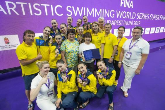 Харьковские синхронистки победили в Мировой серии