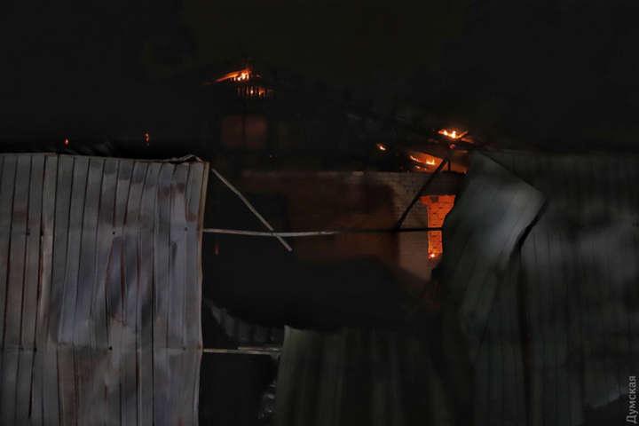 В Одессе в психбольнице заживо сгорели люди (фото)