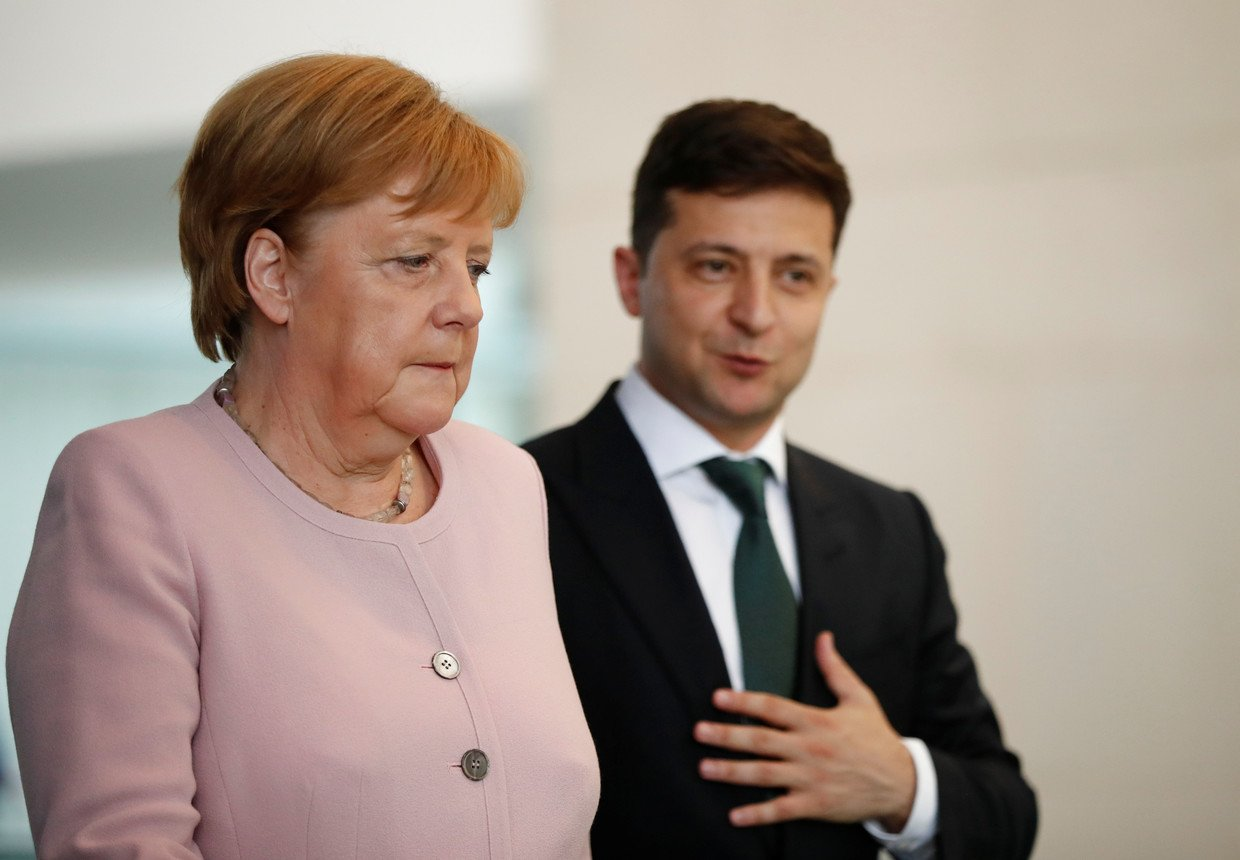 """Sanctions against Russia will not be abolished until Crimea returns to Ukraine"", – Merkel"