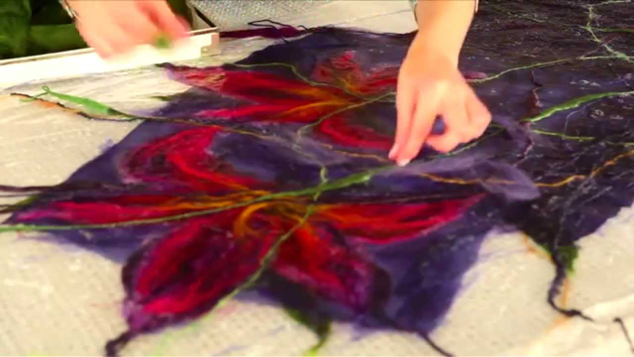 Харьковчанам предлагают познакомиться с художественными работами в технике нуно-фелтинга