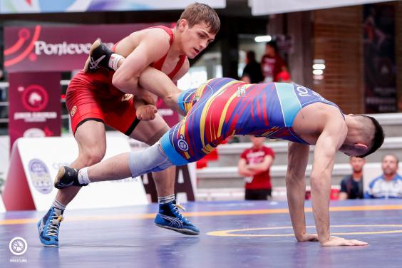 Харьковские борцы завоевали медали чемпионата Европы