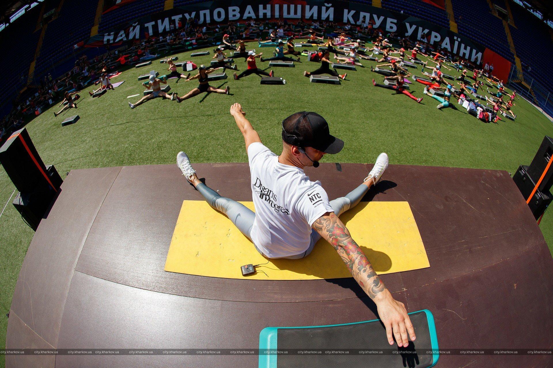 В Харькове прошли соревнования по берпи (фото)