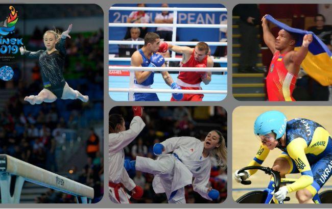 Европейские игры – 2019: Украина – на третьем месте в медальном зачете
