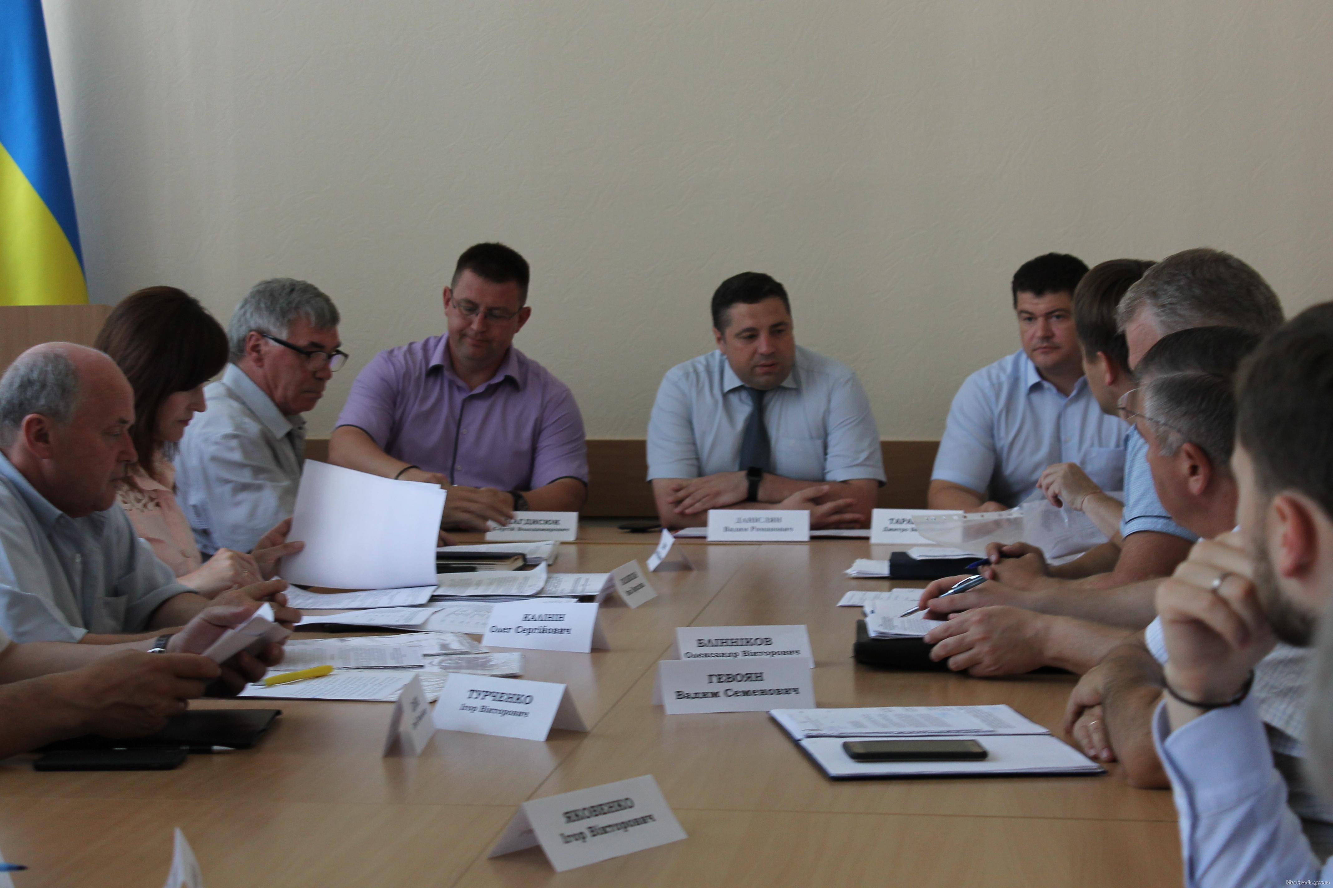 Руководители четырех районов Харьковщины отчитались о подготовке к зимнему периоду