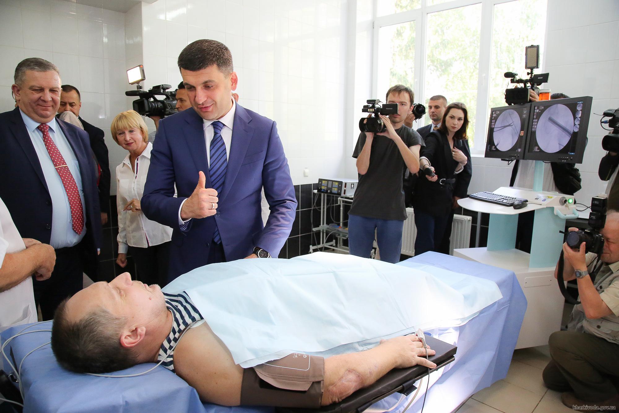 Прем'єр-міністр України побував з робочим візитом у Харкові (відео)