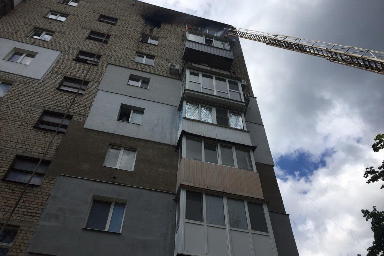 При пожаре на Отакара Яроша погиб человек