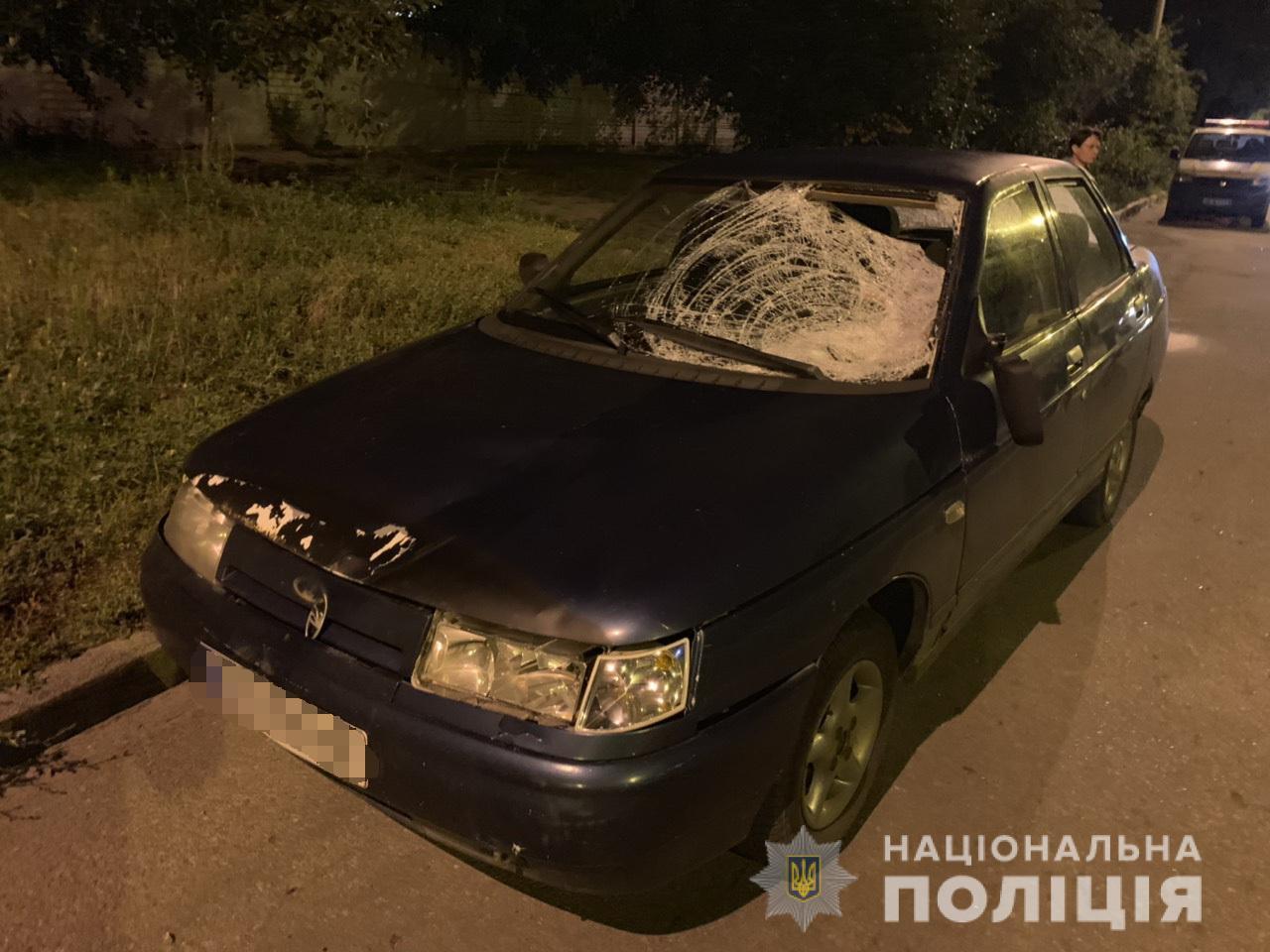 В Холодногорском районе водитель легковушки насмерть сбил пешехода (фото)