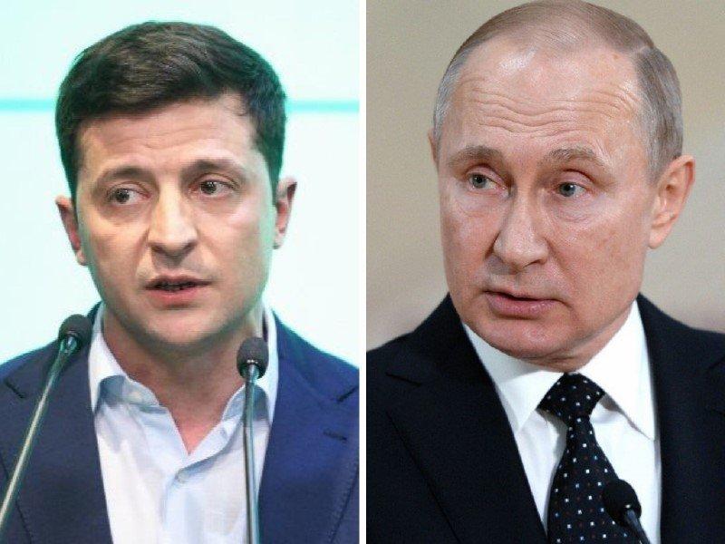 First conversation: Ukraine's new president phoned to Putin