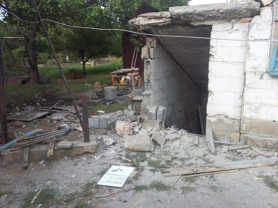 В результате обстрела оккупантами села на Донбассе погиб местный житель (фото)