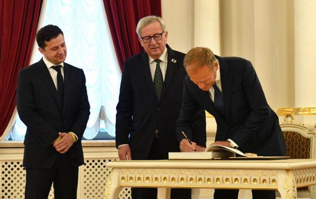 Финансовая помощь, борьба с коррупцией и продление санкций для России: итоги саммита Украина-ЕС