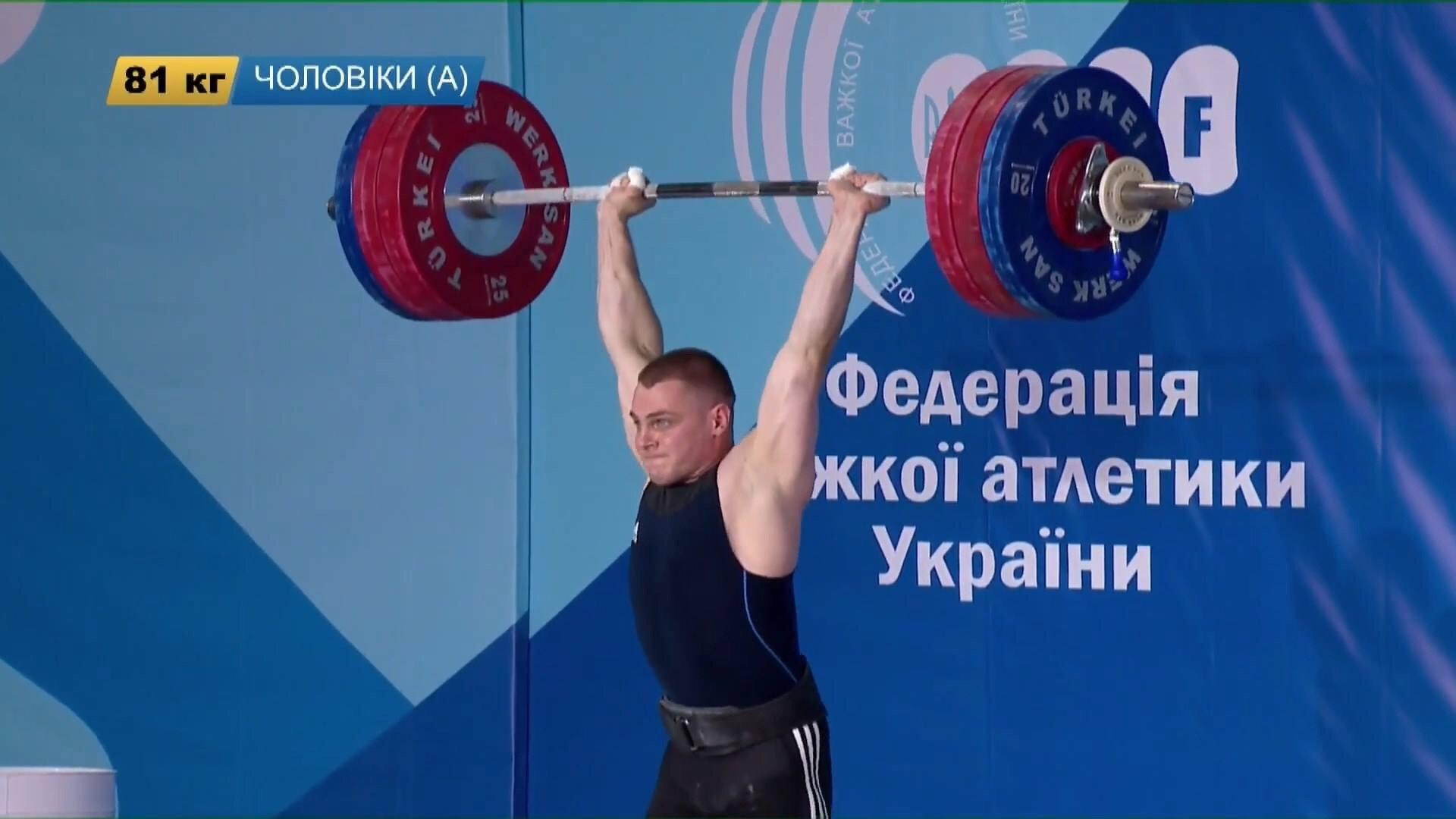 Харьковские тяжелоатлеты — призеры чемпионата Украины