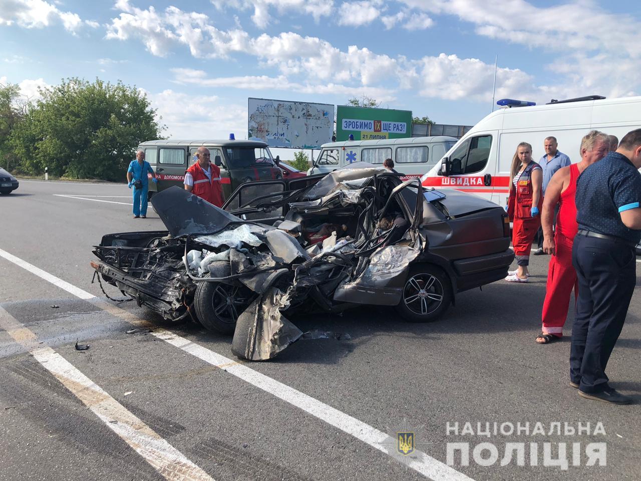 ДТП в Одесской области: погибли 4 человека (фото)