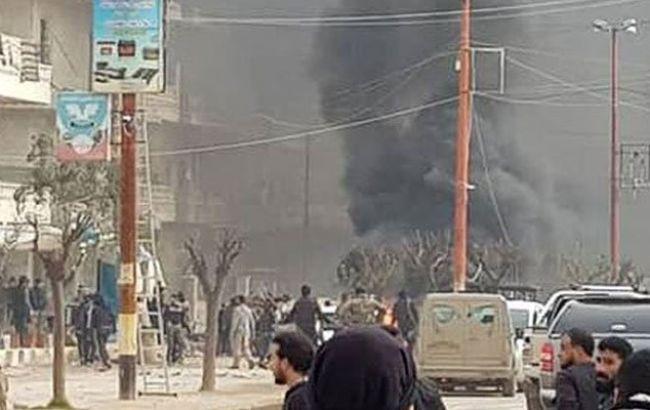 Взрыв в Сирии: 11 погибших (видео)