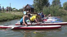 Гонки на байдарках, каное, кануполо, SUP бординг на фестивале Kharkiv Water Fest.