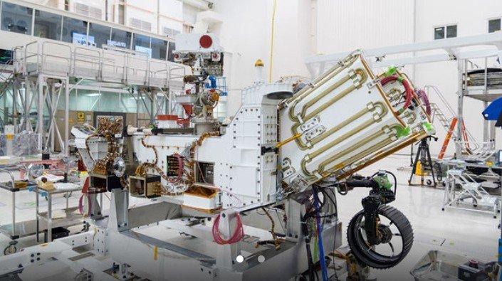 NASA начала заправлять ядерную батарею для нового ровера Марс-2020