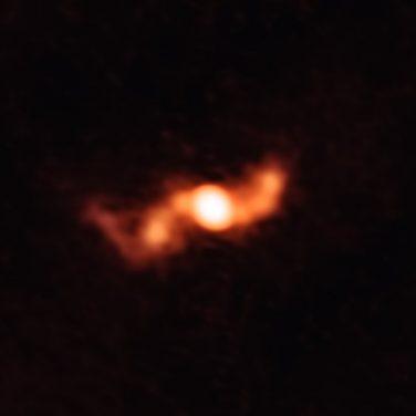 Ученые впервые сфотографировали уникальный космический объект