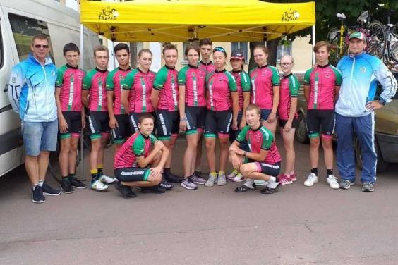 Юные велогонщики Харьковской области завоевали медали чемпионата Украины