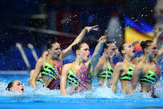 Харьковские синхронистки завоевали третью медаль на чемпионате мира