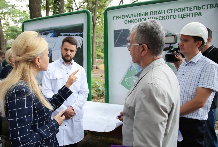 На Харьковщине строят новый онкологический комплекс