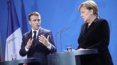 Brexit: Макрон и Меркель проведут встречи с британским премьером