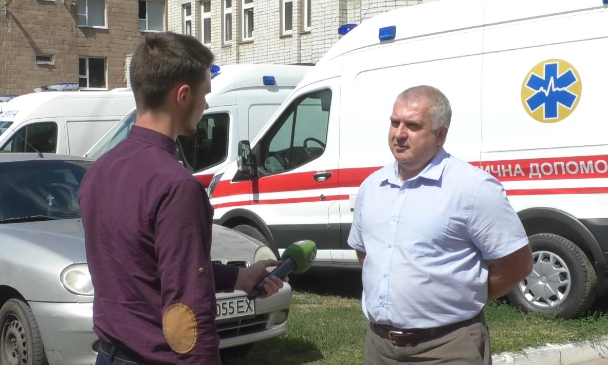 Харківським медикам погрожували ножем в кареті «швидкої»