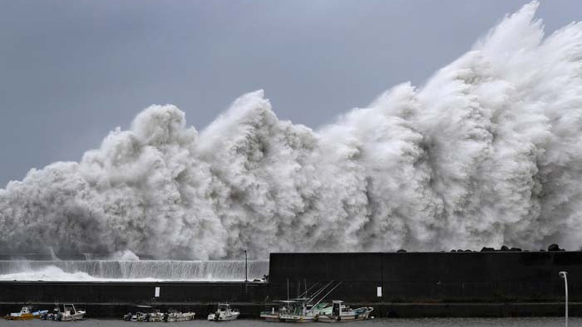 Тайфун в Китае: количество жертв более 40