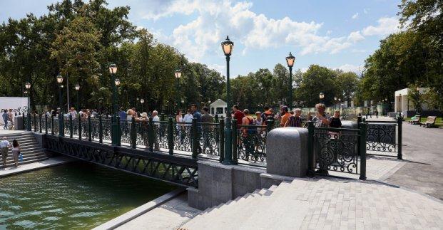 В Харькове завершат реконструкцию нескольких зон отдыха ко Дню города