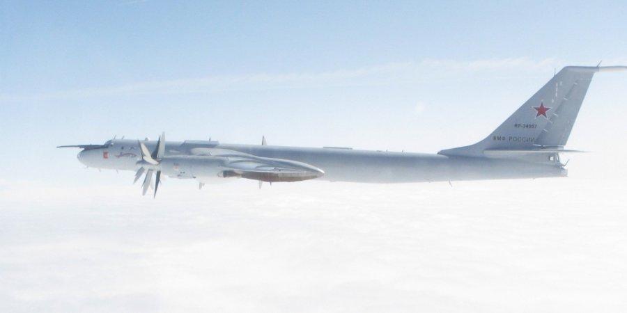 Великобритания вновь перехватила российские самолеты
