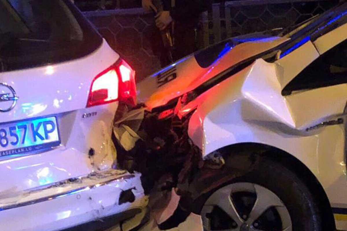 У Харкові погоня поліції за порушником закінчилася потрійною ДТП
